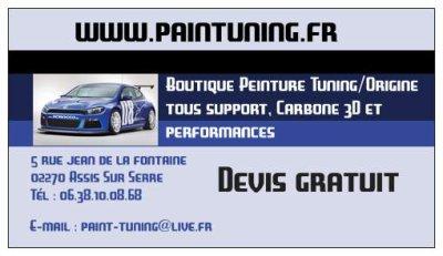 Boutique Peinture Tuning et Performances