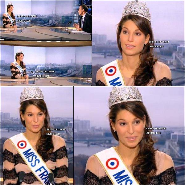 . 04/12 Laury interviewé sur TF1, ils lui ont montré un reportage de la Bretagne à fond avec elle Encore Bravo à toi Laury ! .