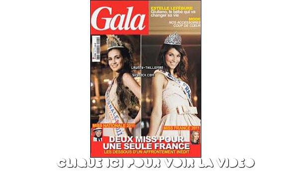. 08/12 Laury faisant des photos pour le Magazine Gala qui sort en kiosque aujourd'hui même !  .