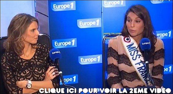 . 06/12 Laury Thilleman & Sylvie Tellier à Europe1 .