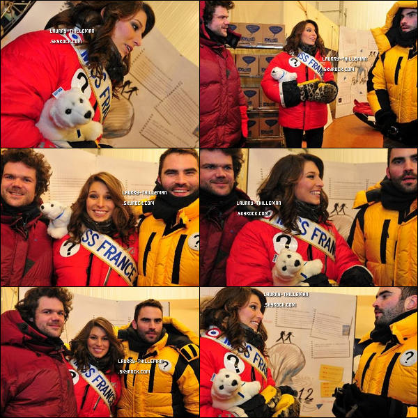 . 22/12 Enfin des news, Laury T. rendant visite à deux Brestois dans un congélo pour la préparation de 'Pôle Nord 2012'.   Trop mignonne la petite peluche :) .