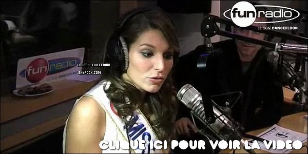 . 15/12 Découvrez l'interview de Laury pour 'Fun Radio' dans la libre antenne de Karel.   .