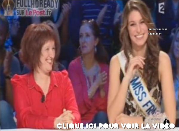 . 10/01 Laury Thilleman présente dans l'émission 'Le bureau des plaintes' avec Jean-Luc Lemoine.  .