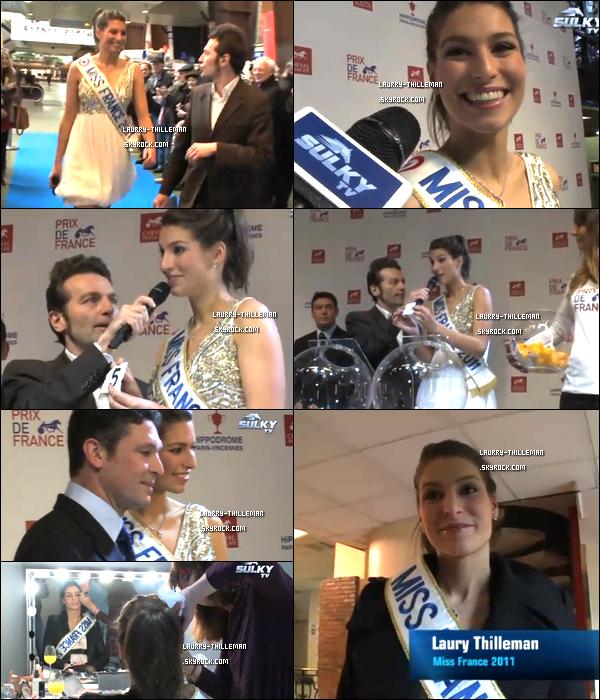 .  10/02  Laury tire au sort les partants du Prix de France à Vincennes . .