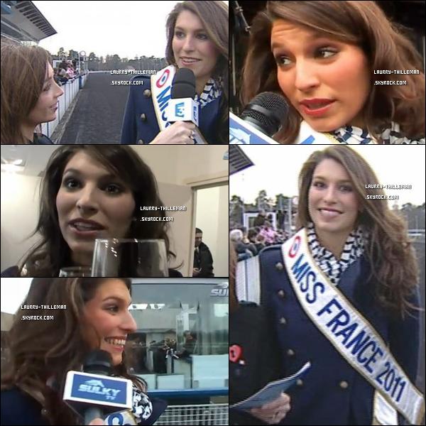 .  10/02  Laury était à l'hippodrome de Paris-Vincennes (liée à l'autre article) .