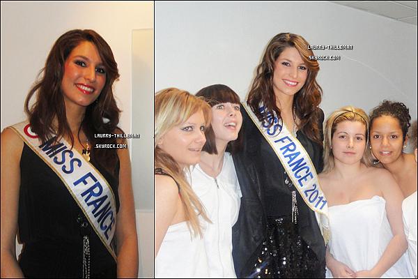 .  14/02  Laury était aussi en visite à l'école d'esthétique les Elysées Marbeuf  .