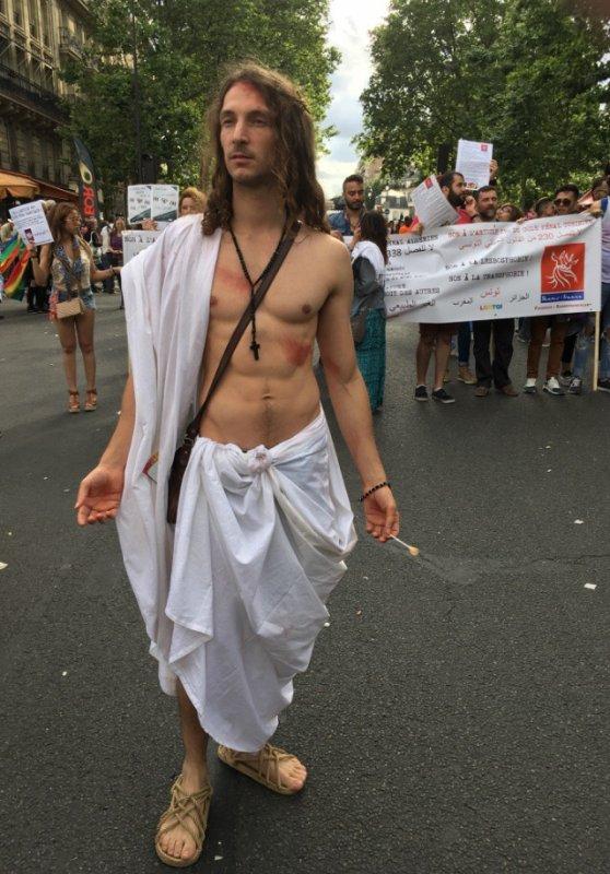 Le Christ avec ses disciples ;)
