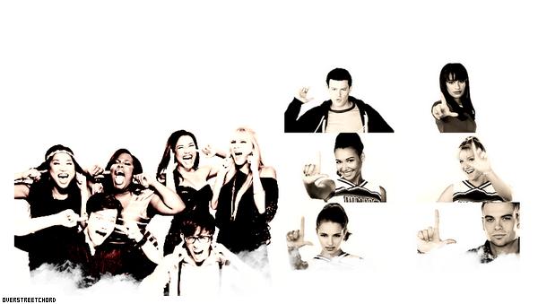 Le Cast de Glee