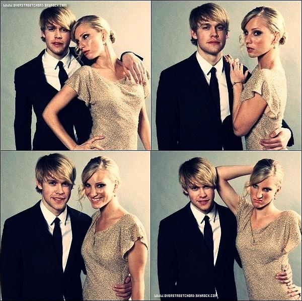 .  Le 6 Août 2011 : Chord et ses collègues de Glee ont posés pour un Photoshoot  des Golden Globes Winners 2011. J'aime beaucoup les photos de Heather Morris (alias Brittany dans la série) et de Chord. Ils sont vraiment trop chous tous les 2!    .