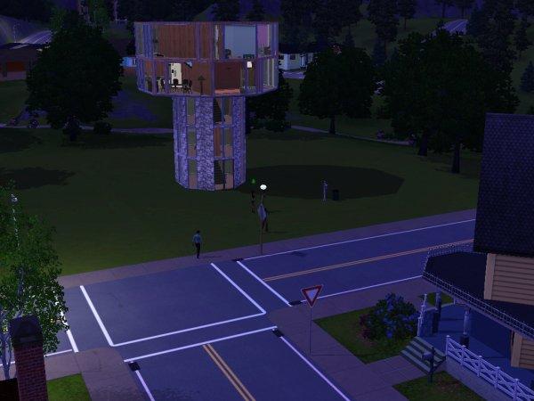 Ma Nouvelle Maison...Pas mal  heein ??
