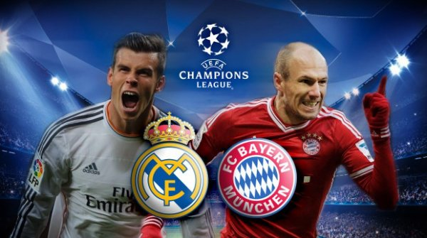 Les compositions de Real Madrid - Bayern Munich