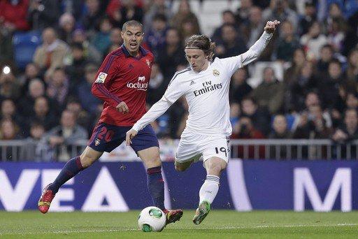 Le Real Madrid écrase Osasuna