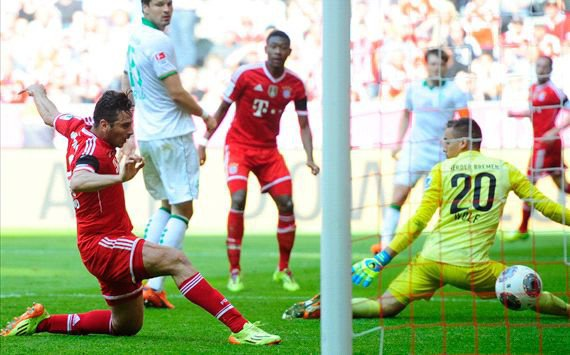 Bayern-Werder Brême (5-2)