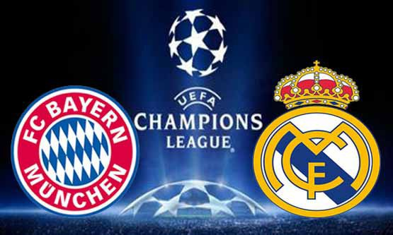 FC Bayern Munich - Real Madrid 1/2 final retour de ligue des champions
