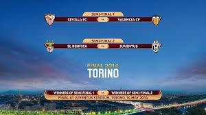 Valence - FC Séville /  Juventus de Turin - Benfica Lisbonne