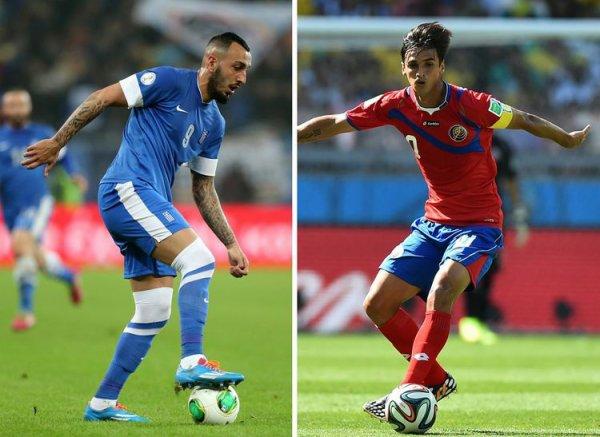 Le Costa Rica élimine la Grèce