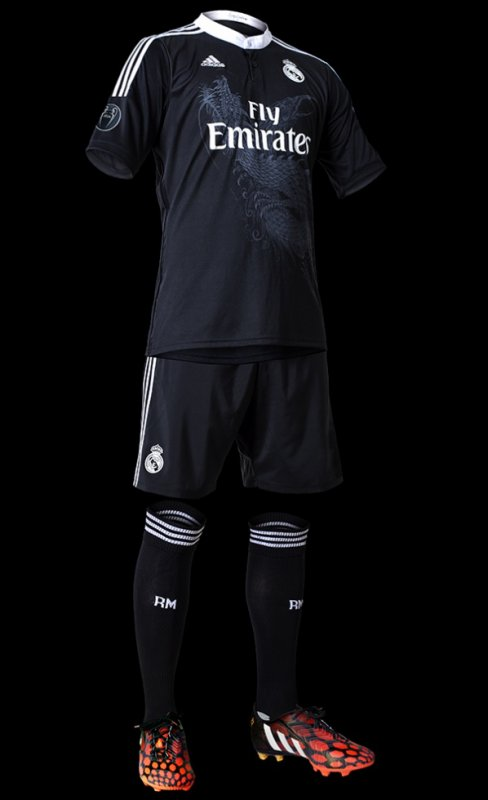 Le nouveau maillot third du Real Madrid