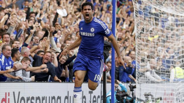 Diego Costa décisif, Chelsea reste au sommet
