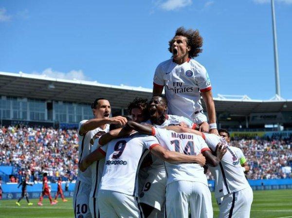 1er titre de la saison pour le PSG