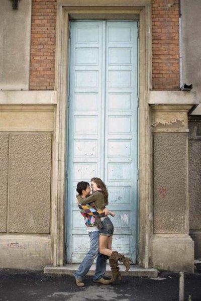 Je serai sa Juliette et tu seras mon Roméo.=)