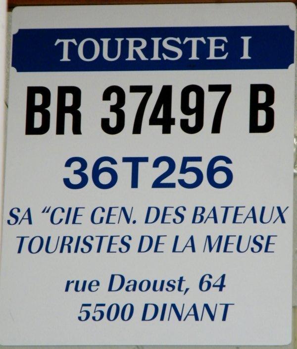 Croisière Namur-Dinant sur le Touriste I, le dimanche 23/08/2009. (Souvenir des dernières années de navigation pour ces bateaux (1889) et pour les croisières estivales et régulières entre Namur et Dinant!