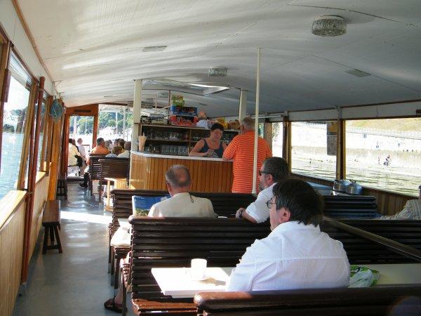 Croisière Namur-Dinant sur le Touriste I, le dimanche 23/08/2009.
