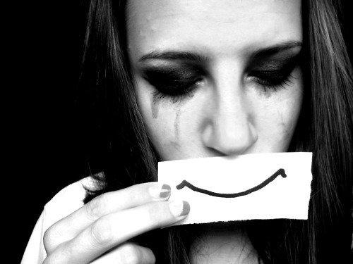 On est jamais totalement triste ou totalement heureux, on essaie juste de s'y persuader.