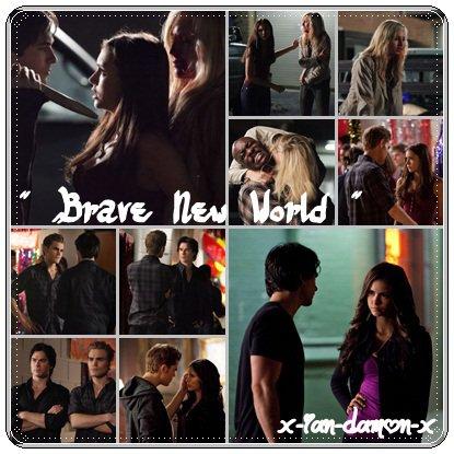 """"""" Damon je ne t'ai jamais aimer ça a toujours été Stefan... """" Katherine"""