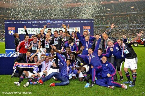 Lyon champion de France