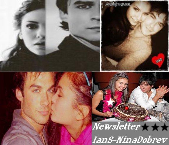 Bienvenue Sur ton Blog Sur Le Couple Ian Somerhalder & Nina Dobrev