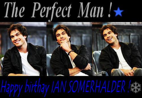 Happy Birthday Ian Somerhalder and Ian Somerhalder Foundation