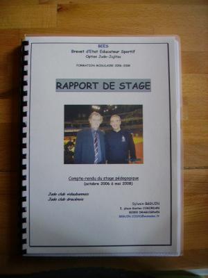 Rapport de stage . - Senseï and co