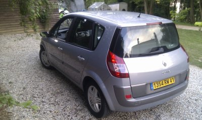 renault scenic 2 1 9 dci 120cv luxe privil ge anm 2004 170000 kms revisee class auto 69. Black Bedroom Furniture Sets. Home Design Ideas