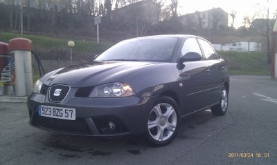 Seat ibiza 1.4l tdi 80cv sport edition an 03/2007 99000KMS TOUTE REVISEE