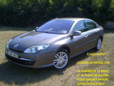 renault laguna iii 2l 150cv initial an 2008 55000kms d origine vendu le 01 09 2011 class auto 69. Black Bedroom Furniture Sets. Home Design Ideas