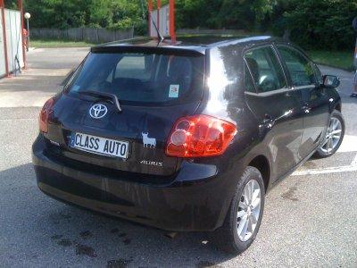 Toyota auris 126 D4D AN 2008 75000kms luna pack (VENDU LE 10/08/2011)