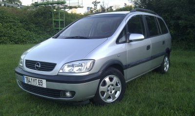 OPEL ZAFIRA 2.2L DTI 125 AN 03/03 120MKMS 7 PLACES ENTIEREMENT REVISEE (VENDU LE 07/09/2011)