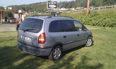Opel zafira 2L DTI elegance 7places AN 01 AVEC 240000KMS (VENDU LE 15/102011)