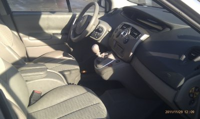 Renault Scenic 1.5l dci 105cv luxe privilege an 08/2005 115000kms (VENDU LE 15/12/2011)