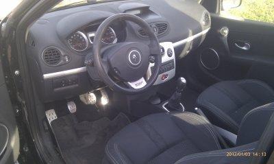 SUPERBE CLIO 3 RS AN 03/2007 95000KMS REVISEE ET TOUTE OPTIONS (VENDU LE 16/03/2012)