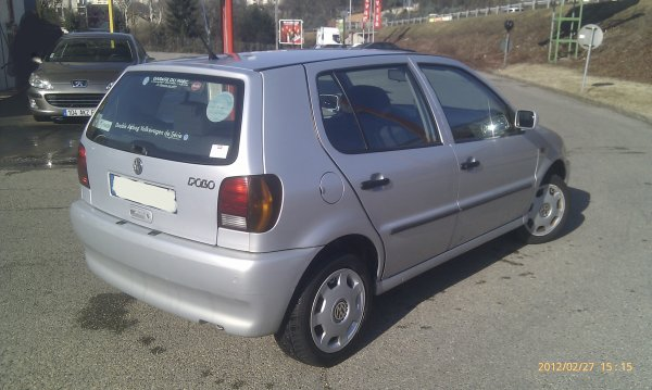 polo 1 4l match 105000kms an 1998 5 portes a revisee vendu le 21 04 2012 class auto 69. Black Bedroom Furniture Sets. Home Design Ideas