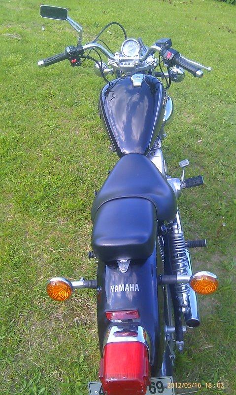TRES BELLE Yamaha 125 virago AVEC 11400kms (VENDU LE 15/08/2012)