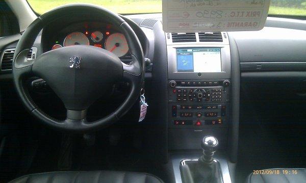 PEUGEOT 407 2l hdi 136cv griffe an 03/2006 AVEC 130000kms  (VENDU LE 23/10/2012)