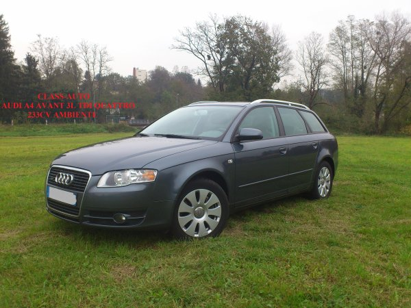 superbe audi a4 avant break 3l tdi quattro 233cv v6 an 01 2008 103000kms vendu le 15 01 2013. Black Bedroom Furniture Sets. Home Design Ideas