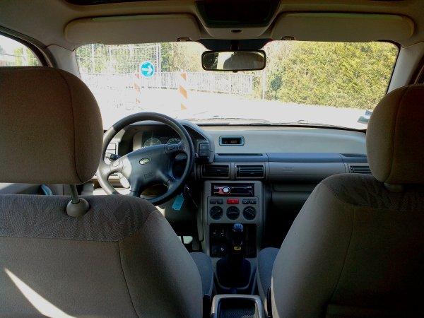 LAND ROVER FREELANDER 2L TD4 SX 112cv MOTEUR BMW AN 07/2001 230000KMS (vendu le 08/03/2013)