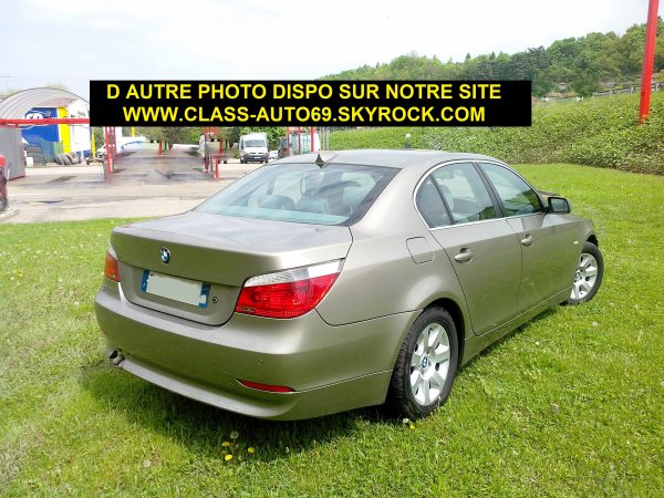 BMW 530D 218CV AN 07/2005 120000KMS D ORIGINE PACK CONFORT (VENDU LE 10/08/2013)