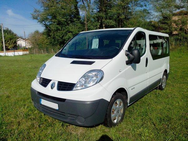 Renault trafic combi 2L DCI 115cv 9 places (VENDU LE 13/11/2013)