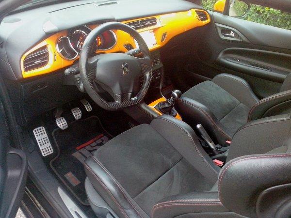 CITROEN DS3 RACING AN 07/2011 23000KMS (VENDU LE 03/04/2014)