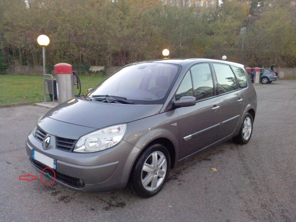 renault scenic dci 120cv 7 places an 10 2004 170000km vendu le 15 12 2013 class auto 69. Black Bedroom Furniture Sets. Home Design Ideas