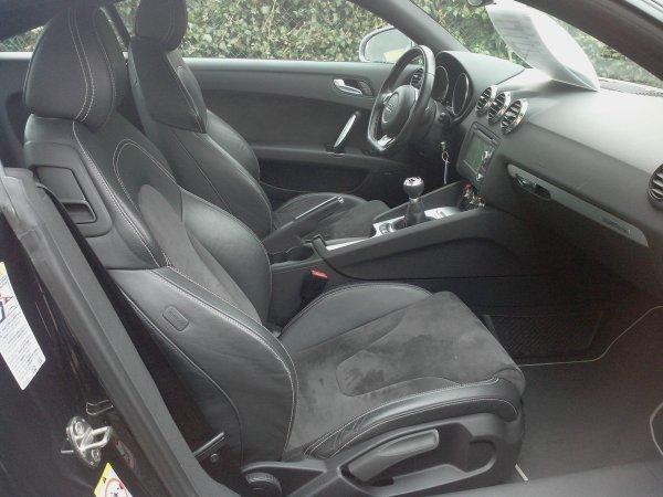 Audi TTS 2l TFSI 272CV AN 06/2008 75000kms d origine (VENDU LE 08/03/2014)